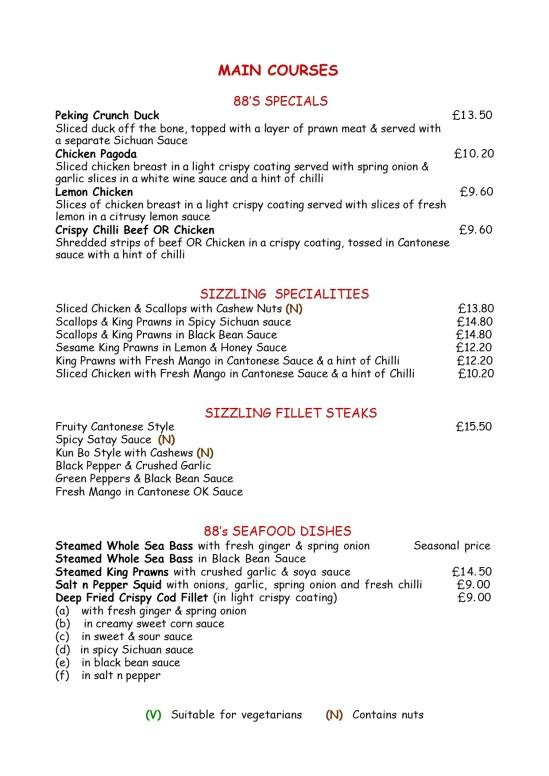 menu 3 sizzlers, specials & seafoodJPG