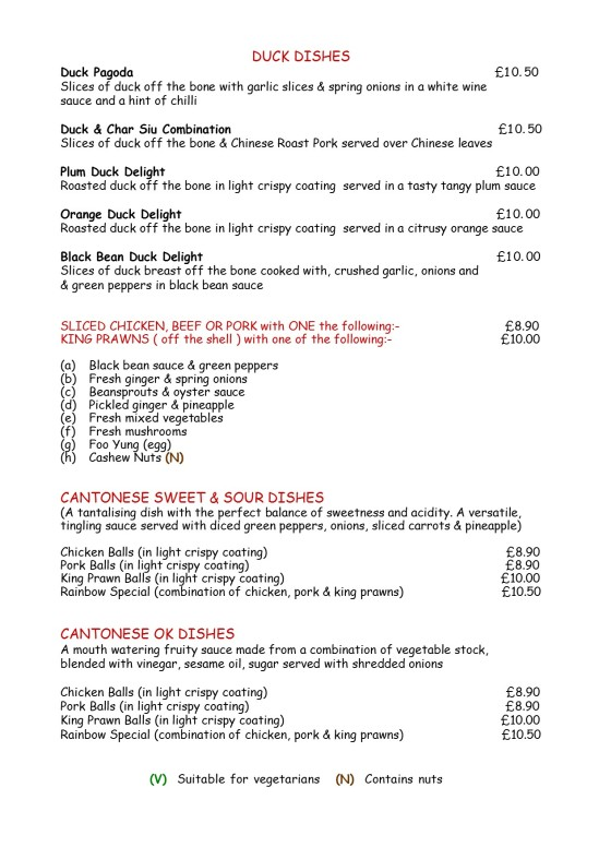 menu 4 duck, meat & k prawnJPG