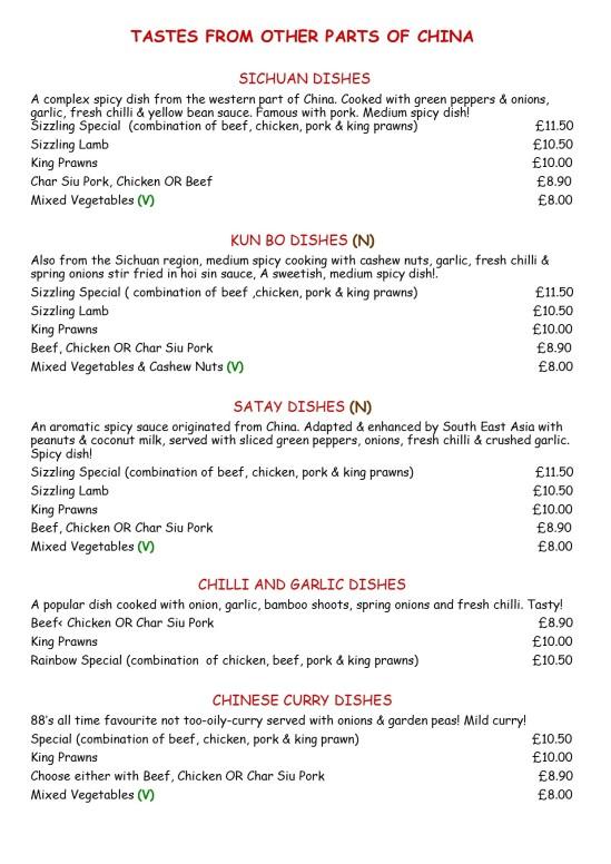 menu 5 other parts of chinaJPG