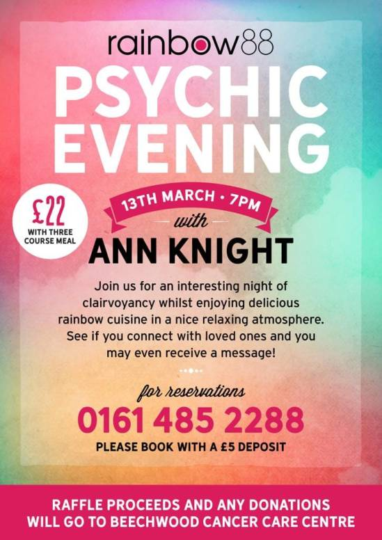 PSYCHIC NIGHT MARCH 19