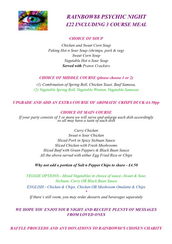 Psychic Night Menu May18JPG